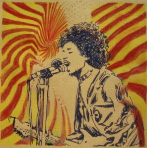 Blues-Art: Jimi Hendrix