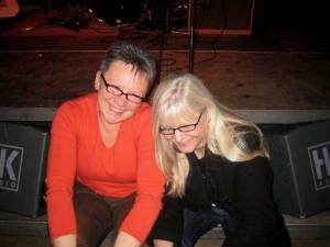 Gitte und Rosie in der Manege Ratingen
