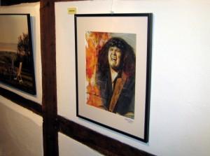 """Julian Sas"" - in der Gemeinschaftsausstellung Markt 9"