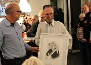 Norbert Salzwedel mit Brian Jones