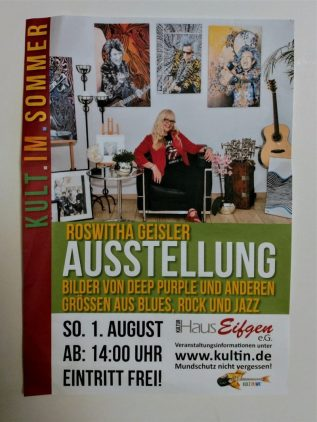 Hier gehts lang - Plakat.../ Foto: R.Geisler