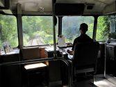 Was für ne Power – der Schienenbus / Foto Roswitha Geisler